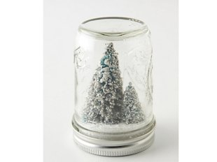 Mason Jar Snowglobe