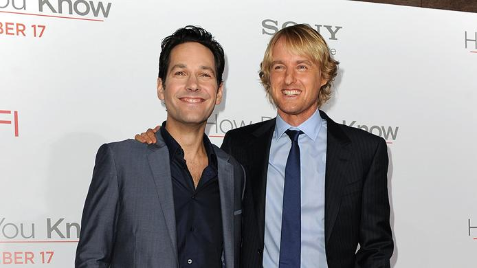 How Do You Know LA Premiere 2010 Paul Rudd Owen wilson
