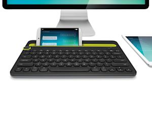 Logitech Unveils First Keyboard Designed For Your Computer, Smartphone and Tablet