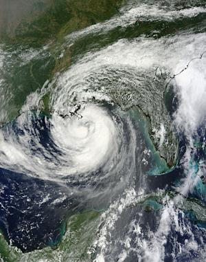 Satellites Show Hurricane Isaac From Space
