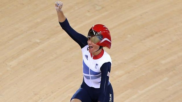 Sarah Storey, women's C5 individual pursuit, London 2012 (PA Sports)