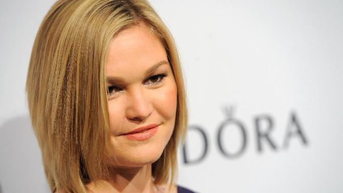 IMAGE DISTRIBUTED FOR THE HOLLYWOOD REPORTER - Julia Stiles arrives at The Hollywood Reporter Nominees' Night at Spago on Monday, Feb. 4, 2013, in Beverly Hills, Calif. (Photo by Chris Pizzello/Invision for The Hollywood Reporter/AP Images)