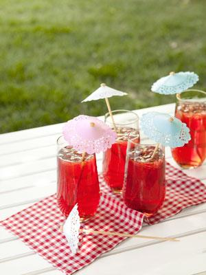 Fashion DIY Drink Umbrellas