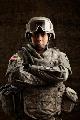 The Female American Soldier