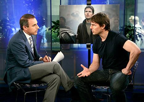 "Matt Lauer on Infamous Tom Cruise Interview: There Was a ""Cold War Period"" After That"