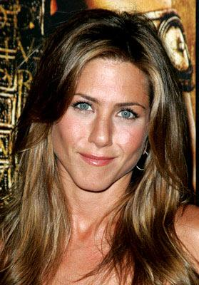 Jennifer Aniston at the New York premiere of Warner Brothers' Troy