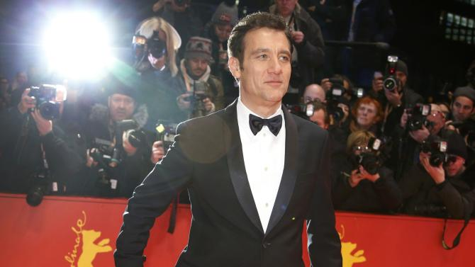 Actor and member of the international jury Owen arrives on the red carpet for screening at opening gala of the 66th Berlinale International Film Festival in Berlin