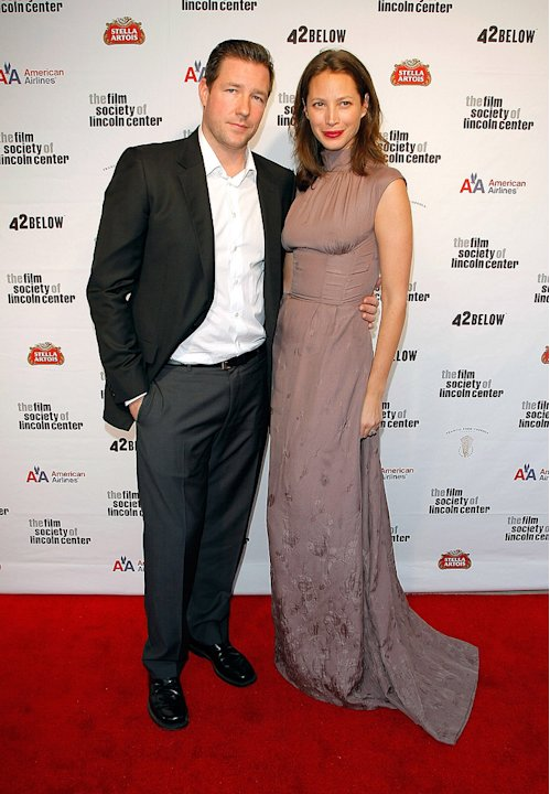 36th Film Society Of Lincoln Center's Gala Tribute 2009 Christie Turlington Ed Burns