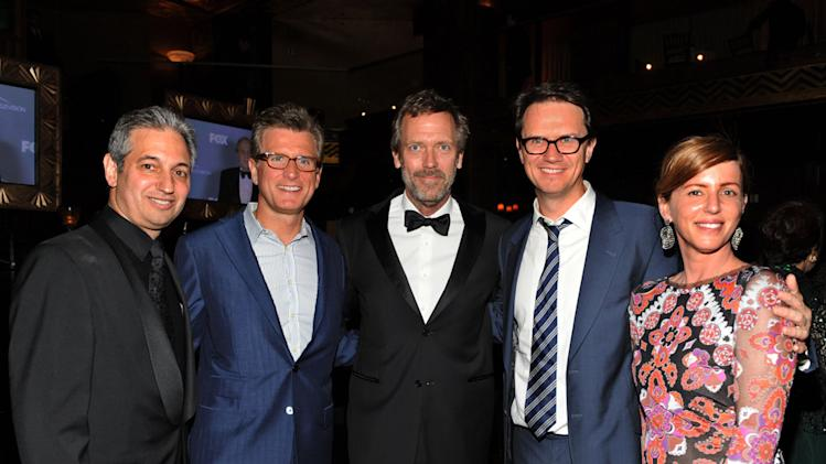 David Shore, Kevin Reilly, Hugh Laurie, Peter Rice and Katie Jacobs
