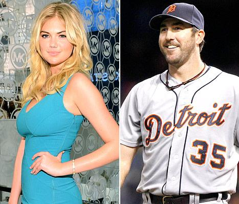 Kate Upton Dating Detroit Tigers Pitcher Justin Verlander, Couple Spends New Year's Together