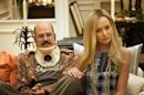 This undated publicity photo released by Netflix shows David Cross, left, and Portia de Rossi in a scene from &quot;Arrested Development,&quot; premiering May 26, 2013 on Netflix. The sitcom, also starring Jason Bateman and Will Arnett, was canceled by Fox in 2006 after three seasons. (AP Photo/Netflix, Sam Urdank)