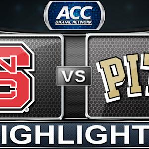 NC State vs Pittsburgh | 2014 ACC Basketball Highlights