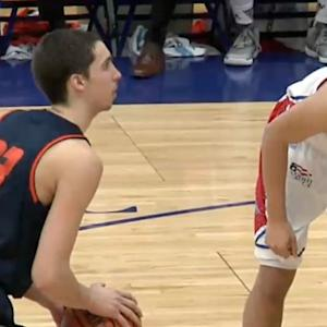 Zach Thomas' Double-Double Helps Lift Bucknell to a Road Win