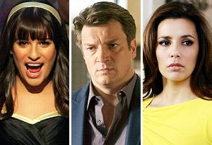 Lea Michele, Nathan Fillion, Eva Longoria  | Photo Credits: Adam Rose/FOX, Randy Holmes/ABC, Ron Tom/ABC