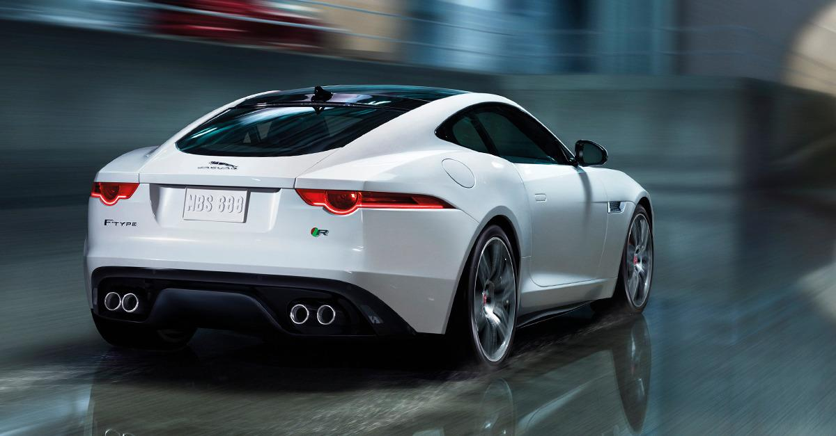 The Jaguar F-TYPE V8 S.