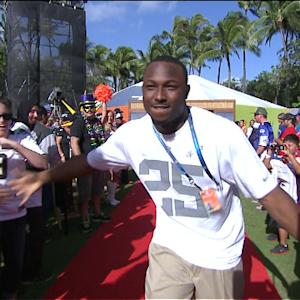 2014 Pro Bowl Draft: Philadelphia Eagles running back LeSean McCoy goes No. 4