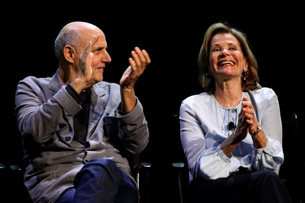 Jeffrey Tambor and Jessica Walter attend The 2011 New Yorker Festival: &quot;Arrested Development&quot; Panel at Acura at SIR Stage37 on October 2, 2011 in New York City. 