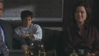 Donnie Darko Scene: Donnie And Parents In Principal's Office