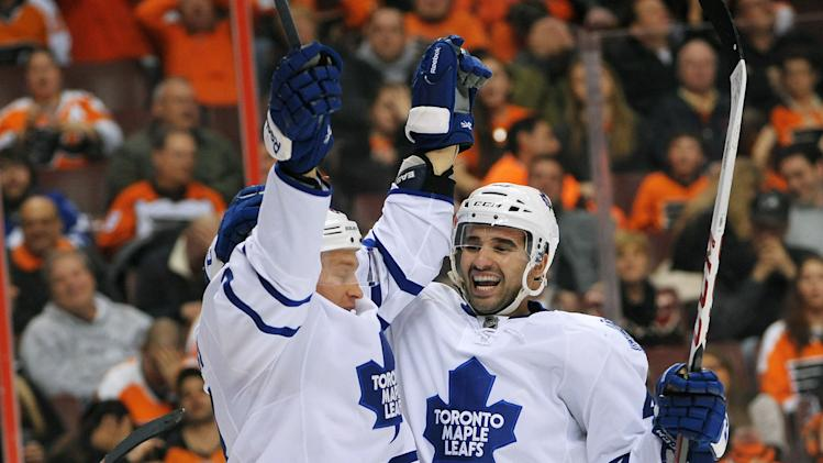 NHL: Toronto Maple Leafs at Philadelphia Flyers