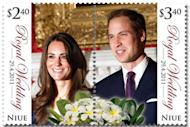 A new stamp officially released by New Zealand Post will mark the Royal Wedding on 29 April. (Yahoo! UK)