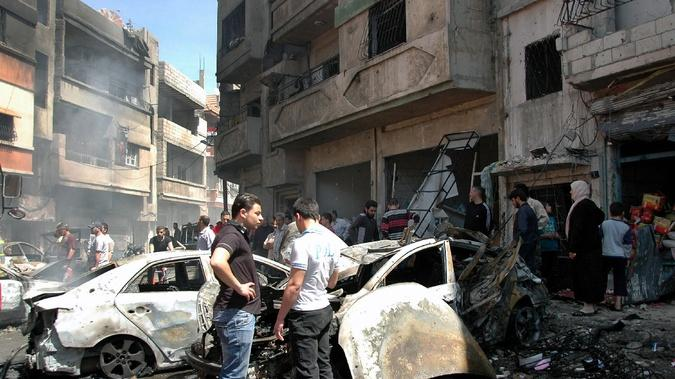 Syria Is Using Its Remaining Chemical Weapons as Leverage