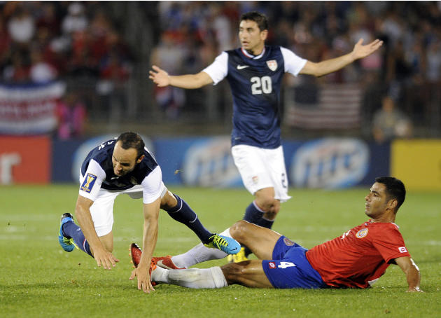 Gold Cup Costa Rica US Soccer