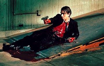 Tim Roth as Mr. Orange in Miramax's Reservoir Dogs