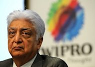 Wipro chairman Azim Premji answers questions during a 2011 press conference in Bangalore. India's third-largest software firm Wipro says net profit climbed 18 percent in the fiscal first quarter but its shares tumbled after it gave a muted revenue outlook
