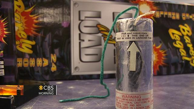 Boston bombers may have used gunpowder from fireworks