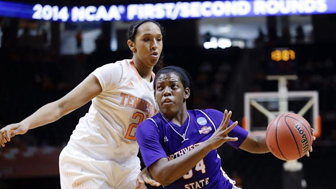 Lady Vols recover to beat Northwestern State 70-46