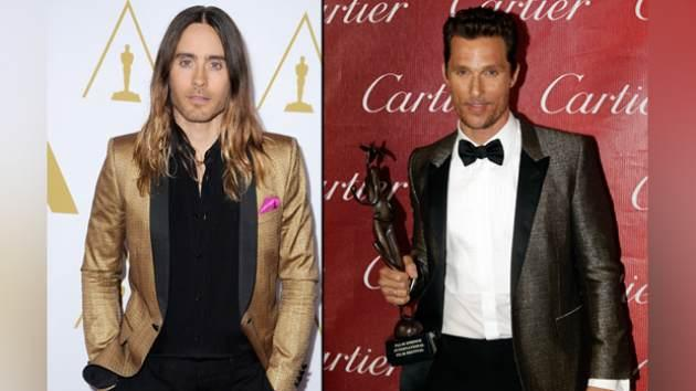 Jared Leto, Matthew McConaughey -- Getty Images