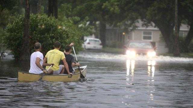 Debby douses Florida with torrential rains