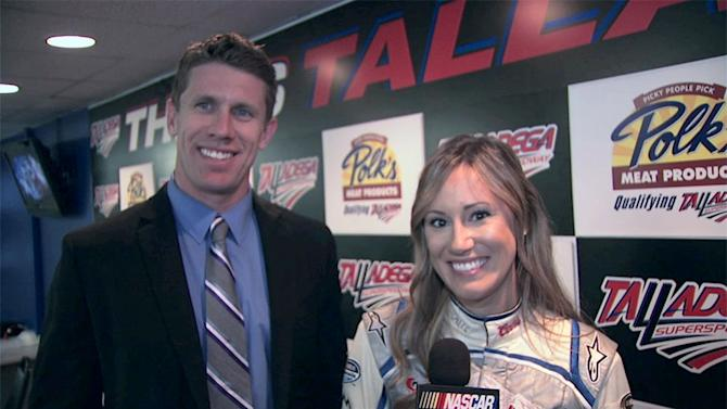 Out Front With Miss Coors Light: Aaron's 499