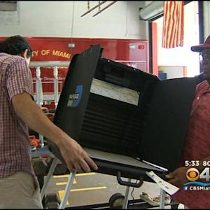 Poll Workers Believe Long Election Lines Won't Happen For Primary