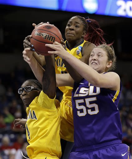 Cal tops LSU 73-63 to reach round of 8