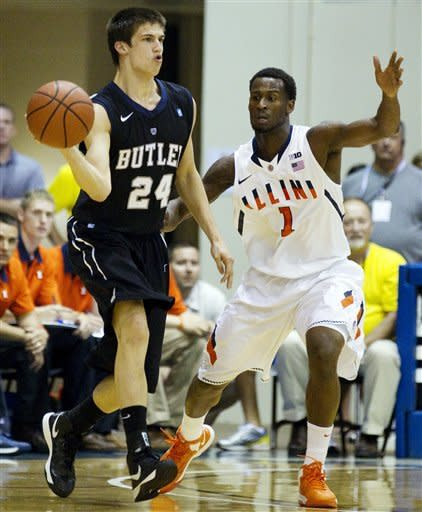 Illinois beats Butler 78-61 to win Maui tourney
