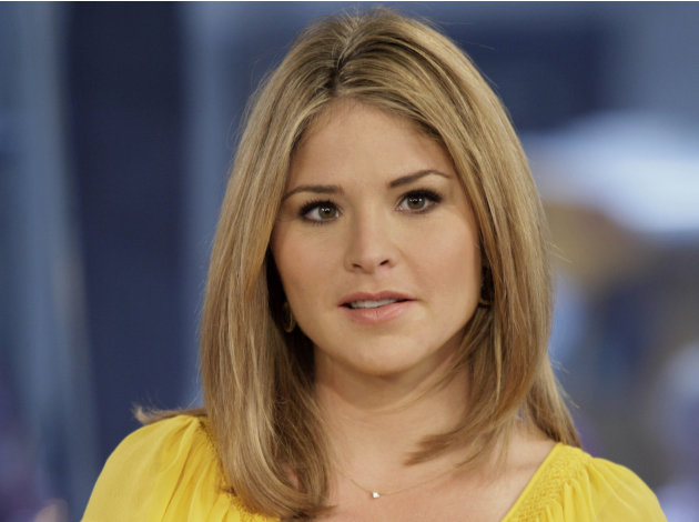 FILE - In this Oct. 8, 2009 file photo, Jenna Bush Hager, special contributor for the NBC &quot;Today&quot; television program, appears on the show in New York.  Former first daughter Jenna Bush Hager announced
