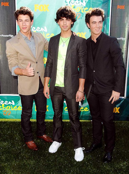 Jonas Brothers Teen Choice Aw