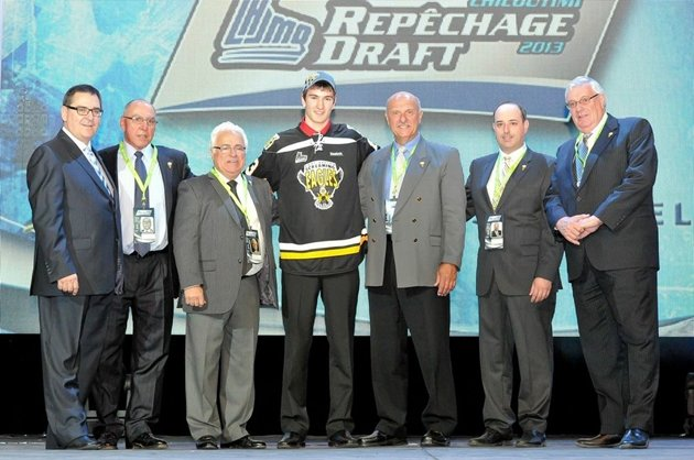 QMJHL: 2013 Entry Draft - To No One's Surprise, Nicolas Roy Taken First Overall By Cape Breton