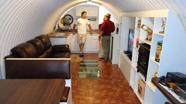 Bomb Shelter Boom Sees Underground Pools, Basketball Courts (ABC News)