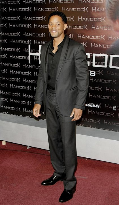 Hancock Paris Premiere 2008 Will Smith