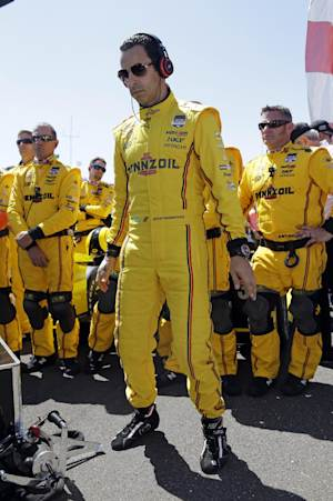 Castroneves finishes second in Indianapolis 500