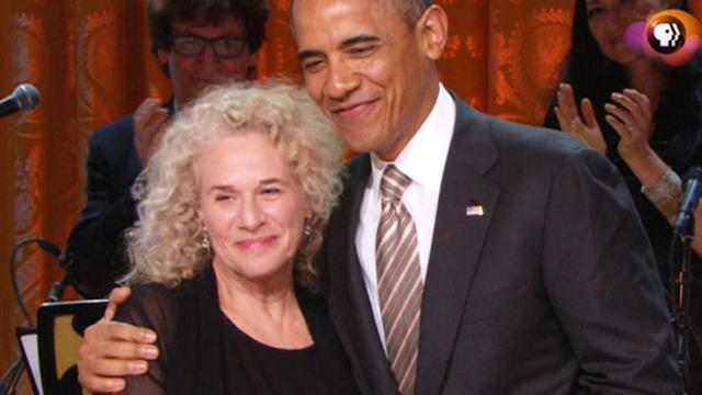 Carole King celebrates Gershwin Prize honor at White House