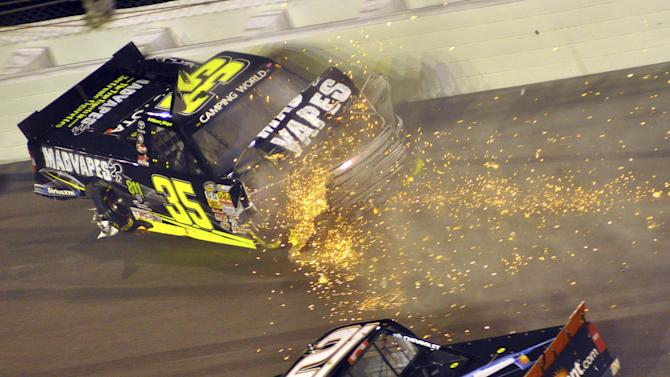 Busch wins Truck Series season opener at Daytona