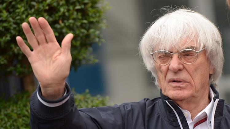 F1 boss Ecclestone charged in bribery case