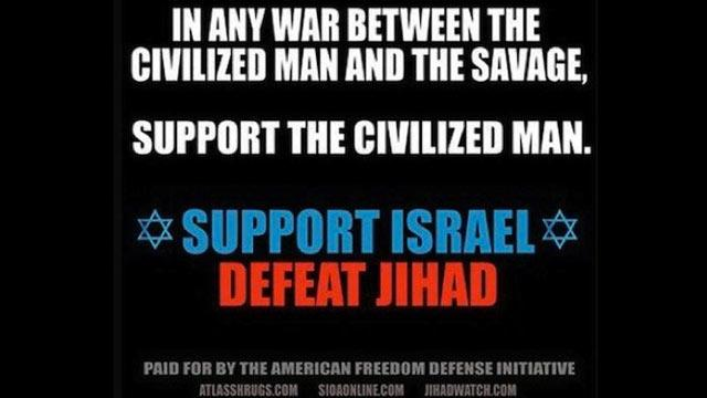 NYC Subway Ads Call for Defeat of Jihad 'Savages'