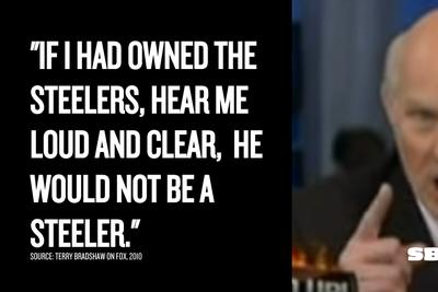 Years before Terry Bradshaw ripped Greg Hardy, he called for the Steelers to dump Ben Roethlisberger