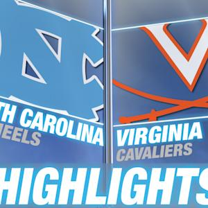 North Carolina vs Virginia | 2014 ACC Football Highlights