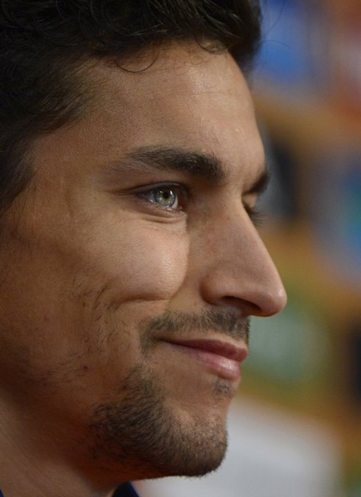 Spanish Midfielder Jesus Navas Smiles  AFP PHOTO/ PIERRE -PHILIPPE MARCOUPIERRE-PHILIPPE MARCOU/AFP/GettyImages AFP/Getty Images