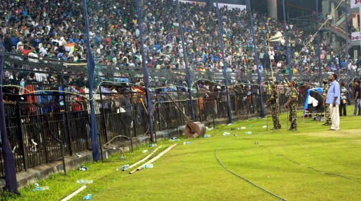 Cricket: Cuttack faces ban calls after crowd trouble